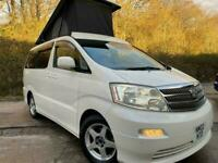 TOYOTA ALPHARD 4WD BRAND NEW CAMPER CONVERTED