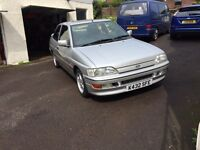 Ford Escort XR3i 130 . 2 previous owners . 1 yr MOT