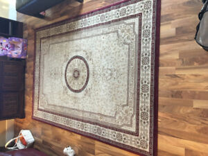 5' x 8' Area Rug and Matching Round Area Rug