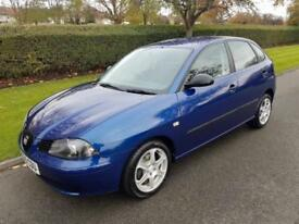 SEAT IBIZA 1.4 16v (S) AUTOMATIC - 5 DOOR - 2005 ** LOW MILES **