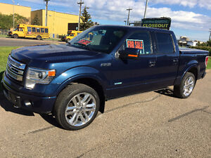 2014 Ford F-150 SuperCrew Limited Pickup Truck
