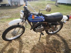 KAWASAKI KE 100cc 1978