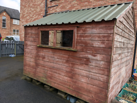 SOLD: Garden Shed 10ft x 10ft, Newry.