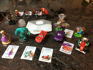 Disney Infinity Console and characters