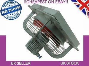 Commercial Ventilation Exhaust Extractor Fan Spray Booth fume Blower 400mm