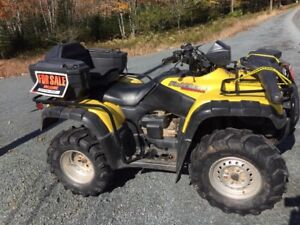 Great 4-Wheeler for sale.