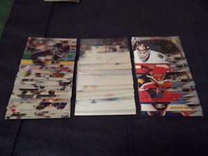 1996-97 Pinnacle McD's NHL Hockey Card Complete Set - $15.00