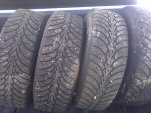 GOODYEAR WINTER TIRES AND RIMS 245/70 R16