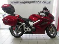 2007 HONDA VFR800 A 6 V TEC ABS 3 BOX HONDA LUGGAGE SAT NAV AND HEATED GRIPS