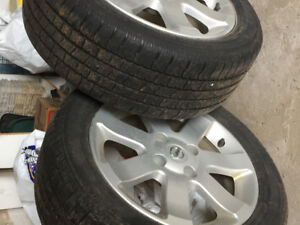 2 all season Tires & Rims for sale
