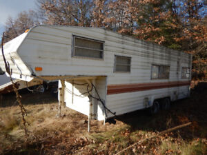 Trailer for sale with 4 bolt rims -as is