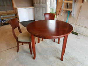 100+ Years Old  Antique Table w/ 4 Chairs
