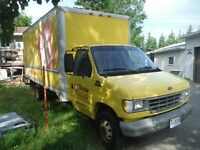 1996 Ford E-350 with 16 foot cubevan