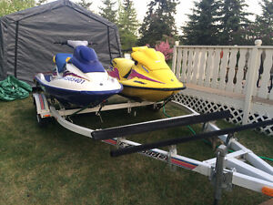 2 1997 seadoo's. One  XP800, The Other Gsx800