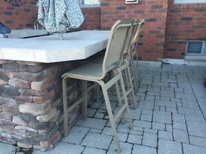 Bar stools buy or sell patio garden furniture in for Outdoor furniture kijiji