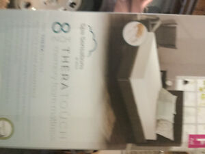 Brand new double size memory foam mattress $200 or best offer