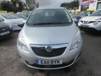 2011 Vauxhall Meriva 1.7 CDTi 16v Exclusiv 5dr