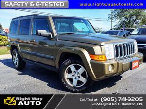 2009 Jeep Commander Sport | 7 PASS | DVD | SAFETY & E-TESTED