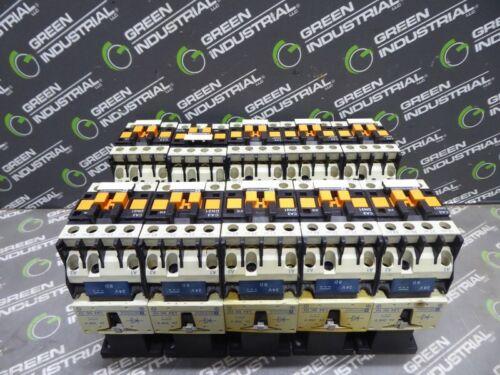 USED Lot of 10 Telemecanique Contactors CA3 DN31 with LA4 DC 1U Coil 24-250VDC