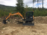 Excavation: land clearing, road building, septic systems.