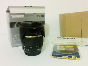 Tamron 17-50mm f2.8 VC like new in box for Canon