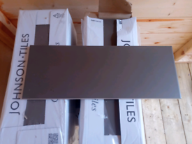 Johnson Glazed Mocha Wall Tiles - 6 Boxes (approx 6m2)