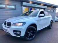 2011 61 BMW X6 3.0d xDrive **White - Massive Spec - 360 Camera**