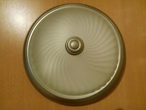 "Four 11"" Ceiling Light Glass Covers"