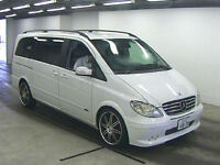 MERCEDES VIANO 3.2 AMBIENTE AUTOMATIC LONG WHEEL BASE 7 SEATER BRABUS STYLING