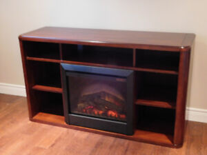 Combination Electric Fire- Entertainment Unit-TV Stand