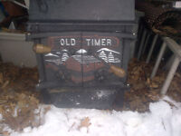 Mint condition Old Timer wood stove