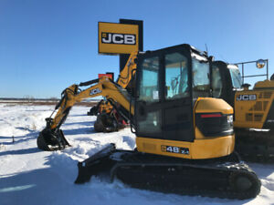 **CLEAR OUR PRICE** NEW JCB 48Z-1 EXCAVATOR