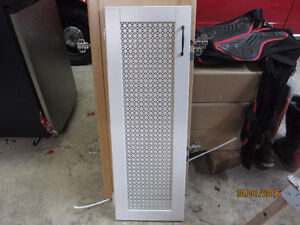 CABINET DOORS WITH MESH CANING