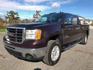 2008 GMC Sierra 2500HD SLT|Diesel|Leather|4x4|DVD|Accident Free|