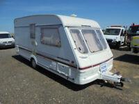 1996 SWIFT CHALLENGER 480 SE 2 BERTH TOURING CARAVAN TOURER WITH AWNING