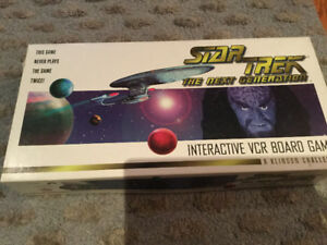 Star Trek The Next Generation - Interactive VCR Board Game