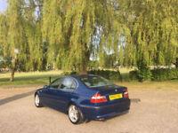 2002 BMW 330 Turbo Diesel SE 4 Door Saloon Blue