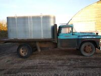Truck and 1700 gal. water tank
