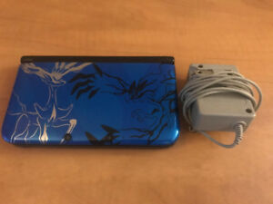 Blue Pokemon X/Y 3DS XL - Console & Charger - Great Cond!
