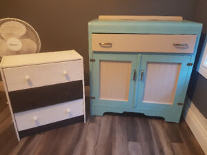 Converted Hutch and dresser