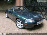 MAZDA MX-5 1.8i 2000 Petrol Manual in Green