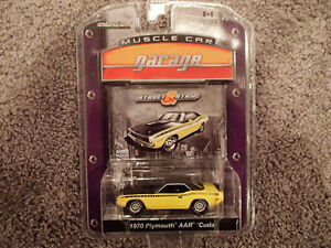 Greenlight Collectibles 1970 Plymouth AAR Cuda - Muscle Car Gara Sarnia Sarnia Area image 1