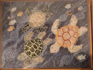Artistic Mosaic Coffee Table