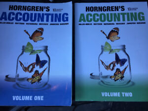 Accounting Textbooks: 1 and 2