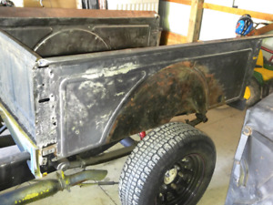 For sale 1935-36 Ford pickup truck box with tailgate