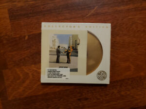 Pink Floyd Wish You Were Here 24-Karat Gold Disk VERY RARE