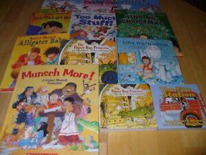 12 Robert Munsch Books - 6 Hard Covers - MUNSCH MORE!