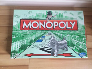 classic monopoly, condition as new