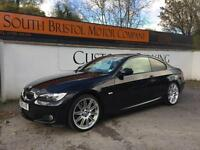 2009 59 BMW 330D M SPORT HIGHLINE COUPE 3.0TD AUTOMATIC 2 OWNER 59K FSH BLACK