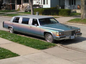 Cadillac brougham limousines